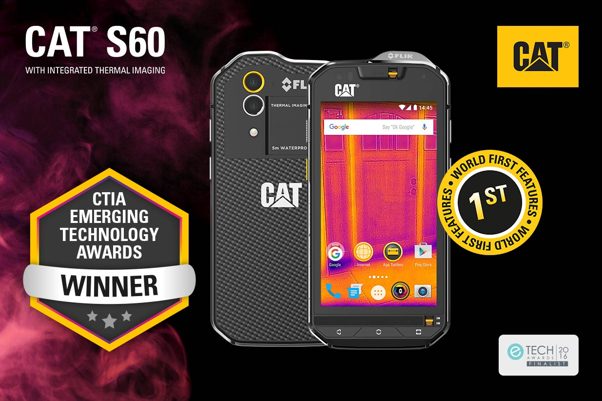 Cat® phones Thermal Imaging Smartphone Makes It to The CTIA Awards Finals