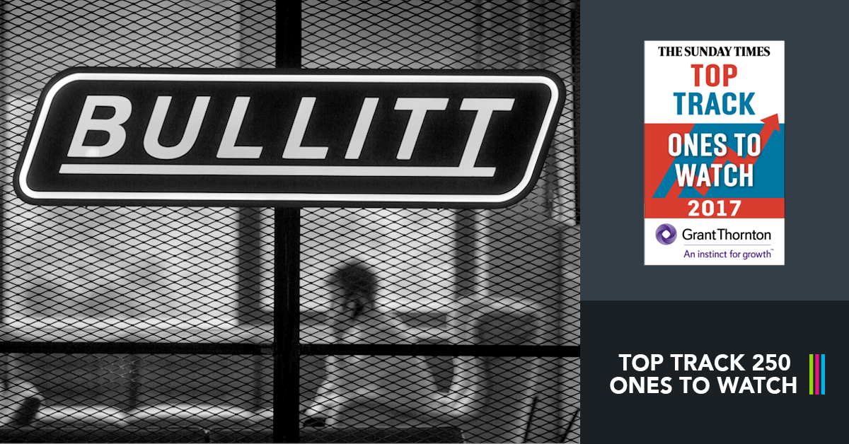 Bullitt Group features in The Top Track 250 'Ones to Watch' Programme