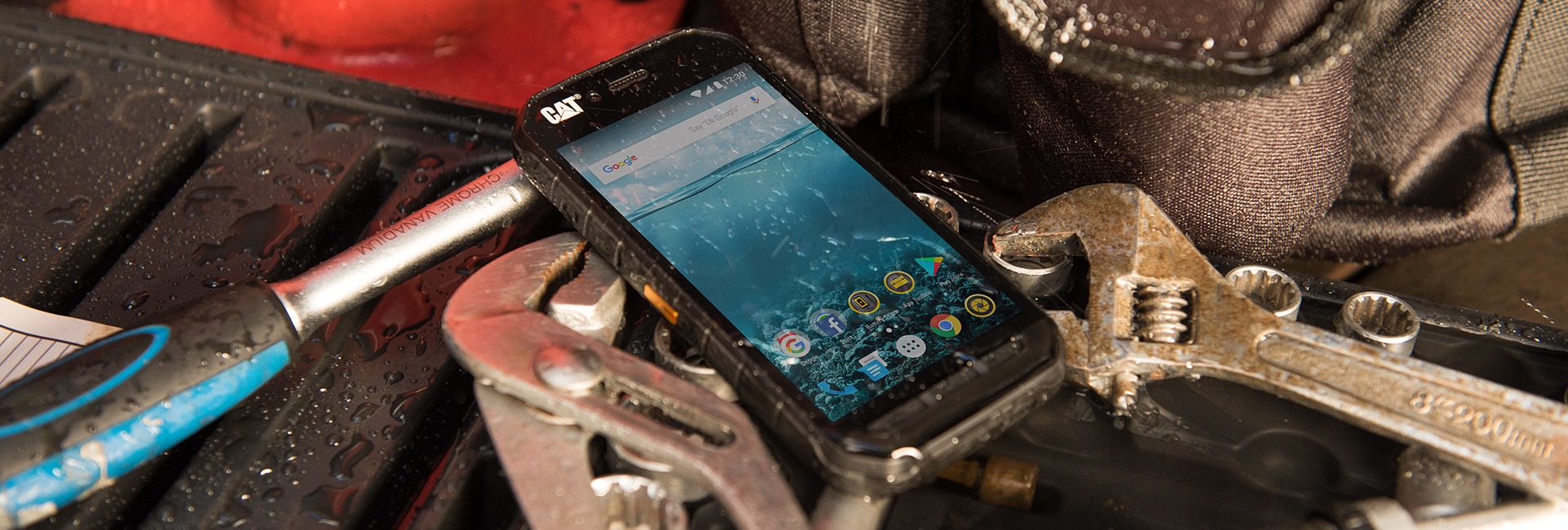 Cat® Phones' Industry Leading Rugged Devices Include Free Screen Repair Under Warranty